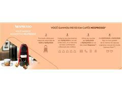 Combo Cafeteira Nespresso Essenza Mini Matt Black + Aeroccino 3 - 1
