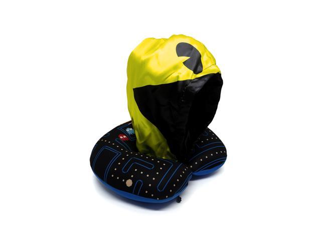 Almofada de Pescoco Kathavento com Capuz Pac-Man