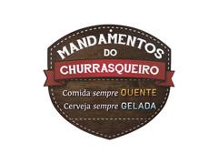 Placa Kathavento Mandamentos do Churrasqueiro Cerveja