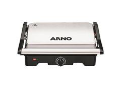 Grill e Sanduicheira Arno Dual Inox 1100W - 1