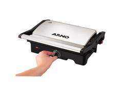 Grill e Sanduicheira Arno Dual Inox 1100W - 2