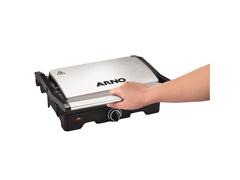 Grill e Sanduicheira Arno Dual Inox 1100W - 3