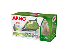 Ferro de Passar à Vapor Arno Ecogliss Cinza e Verde - 6