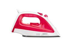Ferro de Passar à Vapor Arno Steam Essential FE10 Rosa e Branco