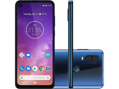 "Smartphone Motorola One Vision 128GB 6.3"" 4G Câmera 48+5MP Azul Safira - 0"