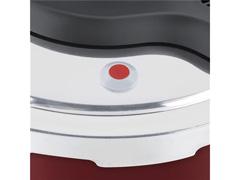 Panela de Pressão Rochedo Clipso Revestida Vermelha 4,5 Litros - 6