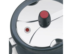 Panela de Pressão Clock Revestida com Fechamento Interno 3 Litros - 5