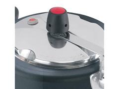 Panela de Pressão Clock Revestida com Fechamento Interno 3 Litros - 6
