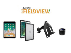 Kit Tablet+Sup Parafusável p/iPad+Capa Gumdrop+Climate FieldView Drive