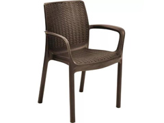Cadeira Keter Bali - Rattan Marrom - 0