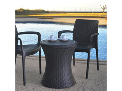 Cool Bar Keter Rattan Marrom - 2