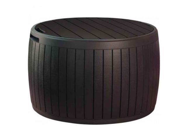 Baú Keter Circa Wood Box