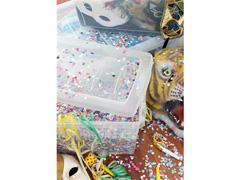 Caixa Organizadora Curver Omni Box Transparent 11 Litros - 1