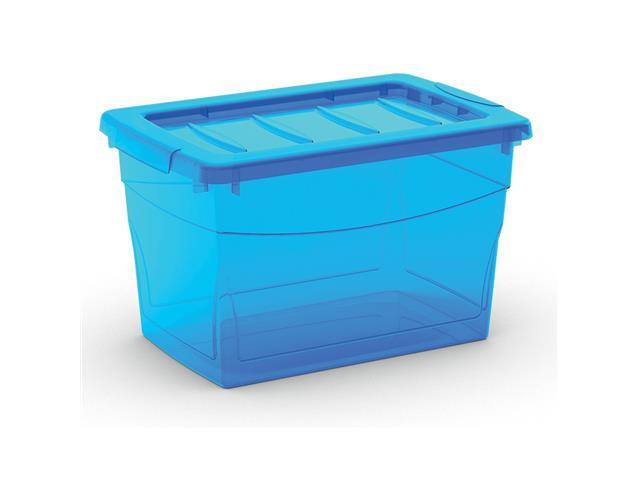 Caixa Organizadora Curver Omni Box Blue 16 Litros