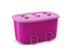 Caixa Organizadora Curver Funny Box Pink 46 Litros