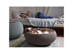 Cama Curver Cozy Pet Knit Sandy com Almofada - 1