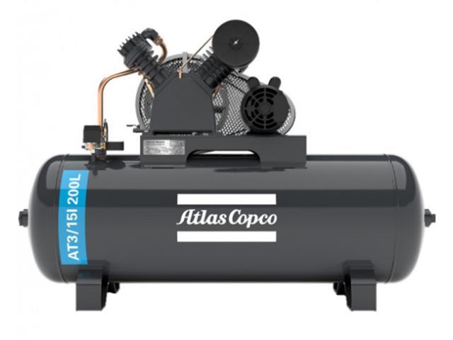 Compressor Pistão AT3/15I 200L 110/220V 1F IP21 60HZ 175PSI V