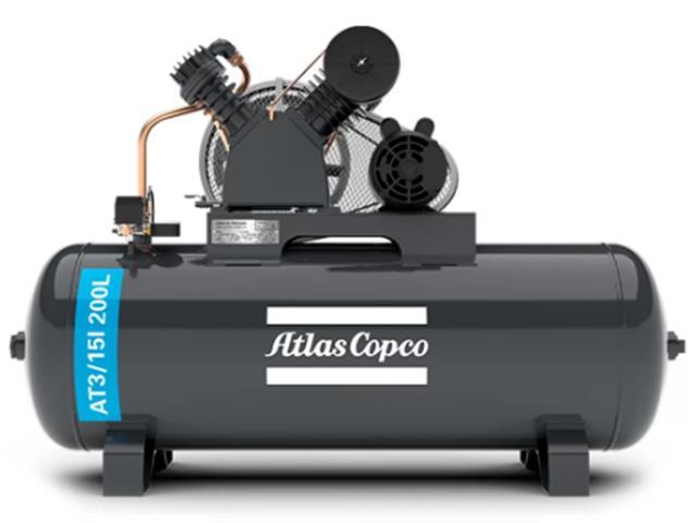 Compressor Pistão AT3/15I 200L 220/380V 3F IP21 60HZ 175PSI V