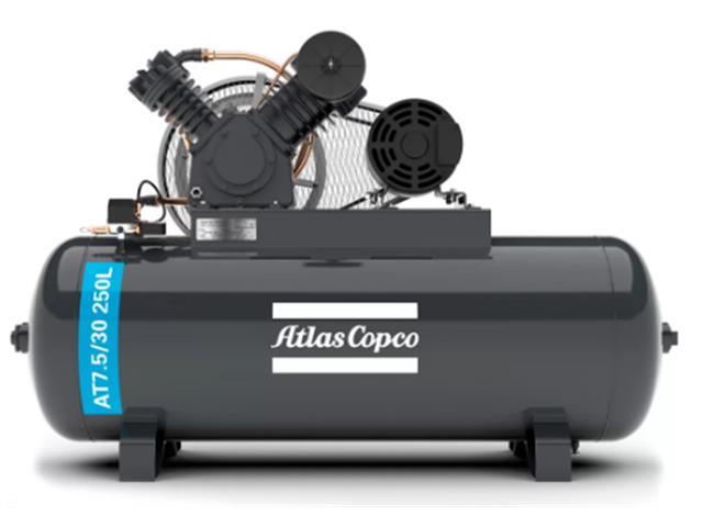 Compressor Pistão AT7.5/30 250L 220/380V 3F IP21 60HZ 175PSI V