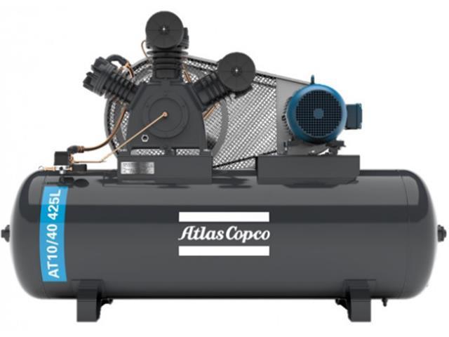 Compressor Pistão AT10/40 425L 220/380V 3F IP55 60HZ 175PSI W