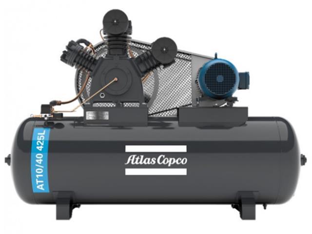 Compressor Pistão AT10/40 425L 380/660V 3F IP55 60HZ 175PSI W