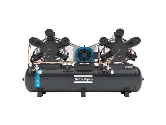 Compressor Pistão AT30/120 500L 220/380V 3F IP55 60HZ 175PSI W