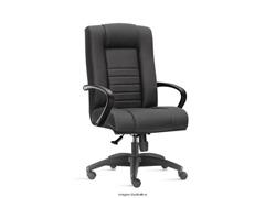 Cadeira New Onix Class Presidente Preta Rodízio Piso Duro - 0