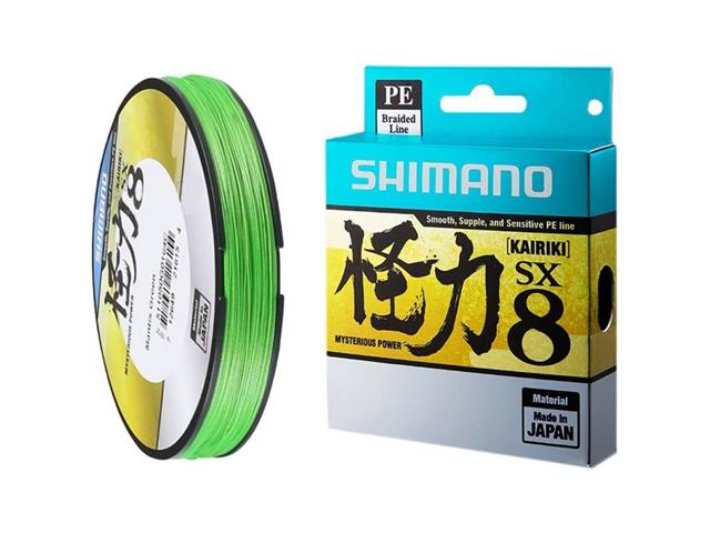 Linha Multifilamento Shimano Kairiki PE 40LB (0.28mm) X 300m Verde