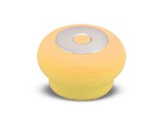 Mini Escova Sônica Multilaser Bella para Limpeza Facial Amarela - 2