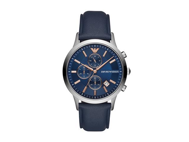 Relógio Emporio Armani Masculino AR11216/0AN Prata Analógico