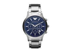 Relógio Emporio Armani Masculino AR2448/1AN Prata Analógico - 0