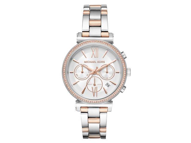 Relógio Michael Kors Feminino MK6558/1KN Prata Analógico