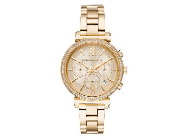 Relógio Michael Kors Feminino MK6559/1DN Dourado Analógico