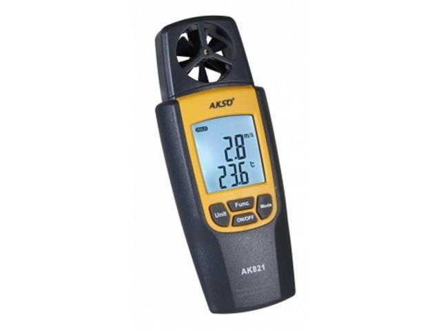 Termo Higroanemômetro Akso AK821 Digital