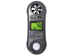 Termo Higroanemômetro Luxímetro Akso LM8000 Digital