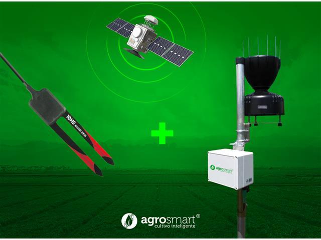 Sensor de Umidade do Solo e Pluviômetro Digital - AgroSmart
