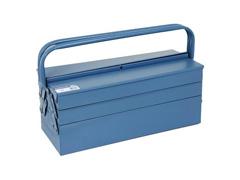 Caixa para Ferramentas Marcon Sanfonada Azul 5 Gavetas - 1