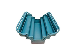 Caixa para Ferramentas Marcon Sanfonada Azul 5 Gavetas