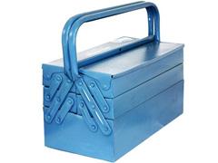 Caixa para Ferramentas Marcon Sanfonada Azul 5 Gavetas - 2