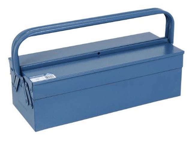 Caixa para Ferramentas Marcon Sanfonada Azul 3 Gavetas