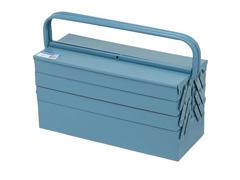 Caixa para Ferramentas Marcon Sanfonada Azul 7 Gavetas - 1