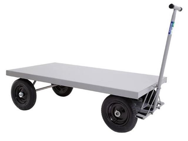 Carro Plataforma em Aço Marcon sem Abas com Capacidade de 400Kg