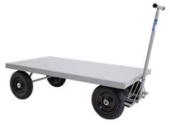 Carro Plataforma em Aço Marcon sem Abas com Capacidade de 400Kg - 0