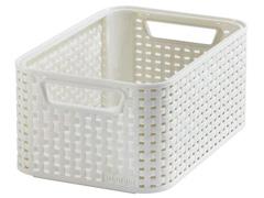 Cestos Organizadores Curver Style 6 Litros Off White