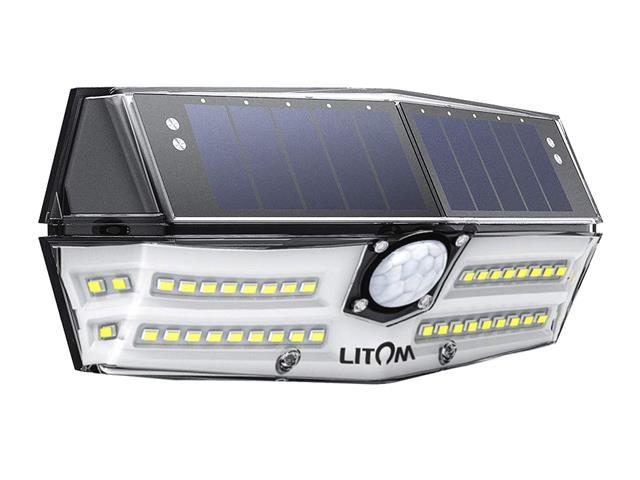 Luminária Litom 40 LED por Energia Solar com Sensor de Movimento
