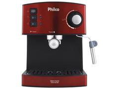 Cafeteira Elétrica Philco Expresso 20 Bar Inox Red 850W - 1