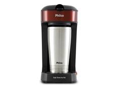 Cafeteira Elétrica Philco PCF21 Single Thermo Inox Red - 1