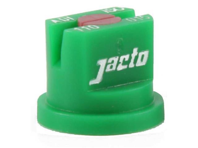 Combo  Bico Pulverizador Jacto Leque  ADI 110015 Verde 25 unidades