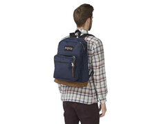 Mochila Jansport Rigth Pack Azul - 3