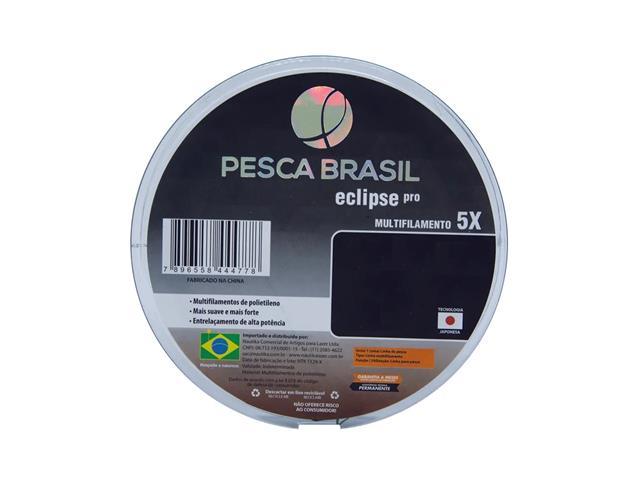 Linha Multifilamento Pesca Brasil Eclipse Pro 0,26 MM Cinza